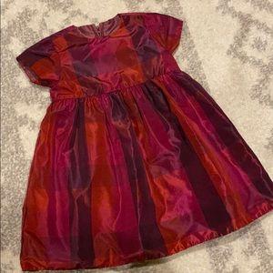 Reversible Satin Holiday Dress